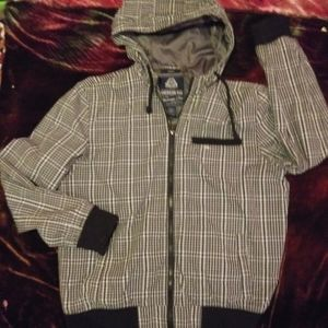•∆• American Rag •∆• checkered jacket w/ hood